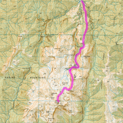 Mount Owen Topomap
