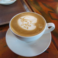 excellent cafe art in Blaa Kannan