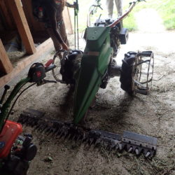 An EXTREME! lawn mower.